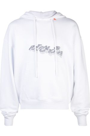 OFF-WHITE Graphic logo print hoodie