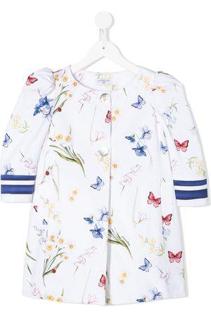 MONNALISA Butterfly print jacket