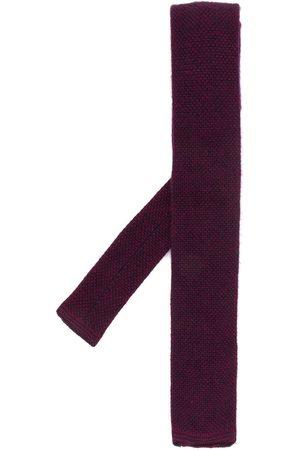 N.PEAL Birdseye knitted tie