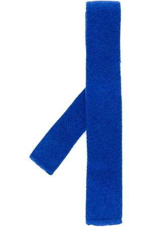 N.PEAL Plain knitted tie