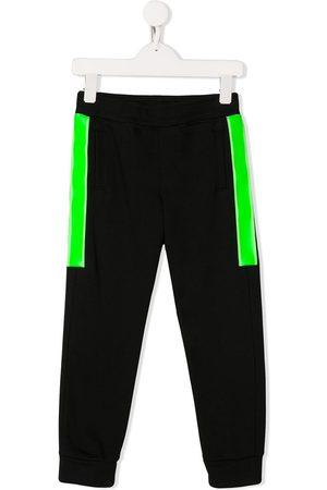 Emporio Armani Panelled block color track pants