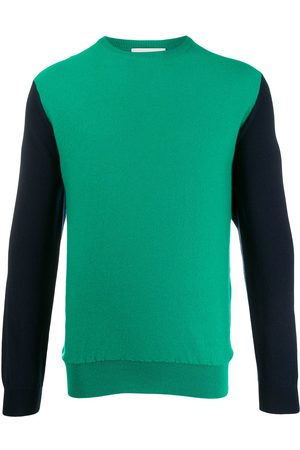 PRINGLE OF SCOTLAND Colour-block cashmere jumper