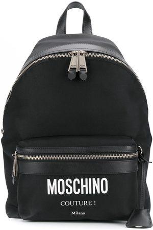 Moschino Printed logo backpack