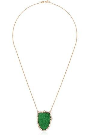 KIMBERLY MCDONALD 18kt rose gold diamond pendant necklace