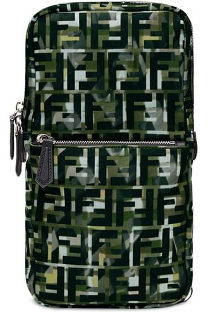 Fendi FF motif one-shoulder backpack