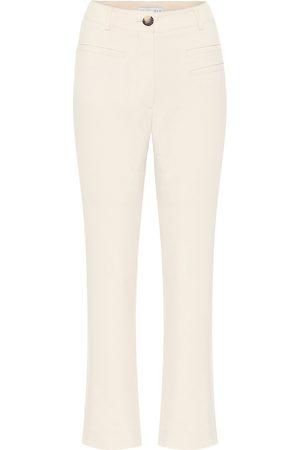 REJINA PYO Finley high-rise canvas pants