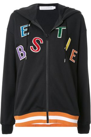 GOODIOUS Bestie zipped front hoodie