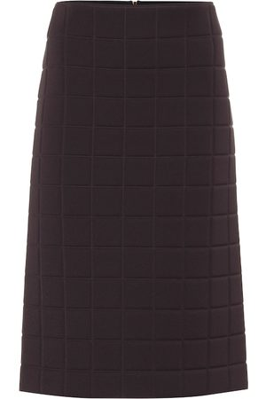 Bottega Veneta Quilted midi skirt