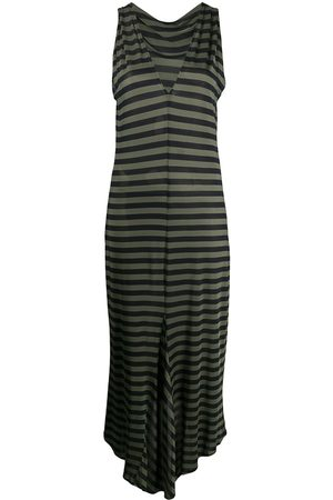 ROMEO GIGLI Women Dresses - 1990s fitted striped dress