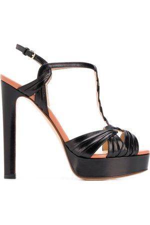 Francesco Russo T-bar platform sandals