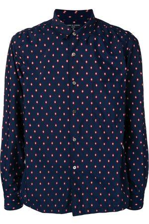 Comme des Garçons Men Tops - Geometric embroidery shirt