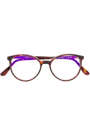 L.G.R Keren 65 round-frame glasses