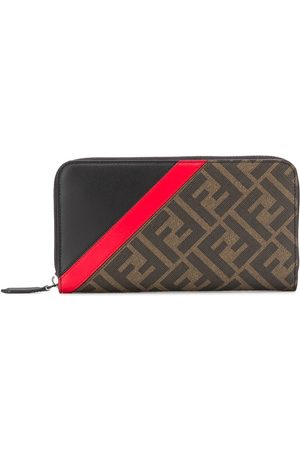 Fendi Monogram print wallet