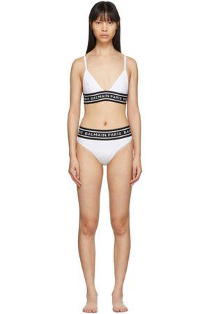 Balmain Logo Elastic Bikini