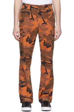 McQ Orange Camo Alex Cargo Pants