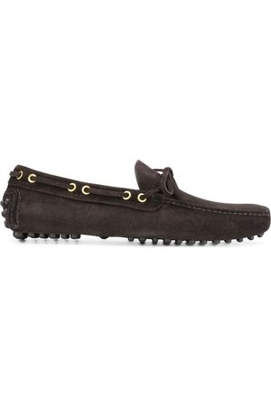 CAR SHOE Men Loafers - Laced suede loafers