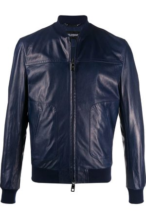 Dolce & Gabbana Bomber leather jacket