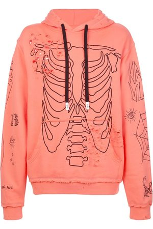 HACULLA Sing distressed graphic hoody