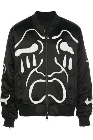 HACULLA Scream embroidered bomber jacket
