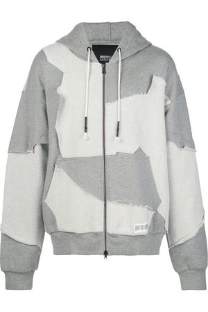 MOSTLY HEARD RARELY SEEN Cut Me Up zip-up hoodie
