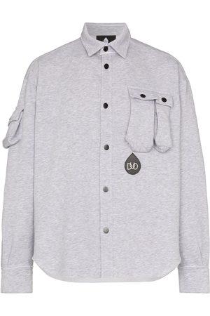 DUO Button-up jersey shirt