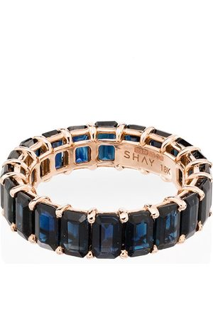 Shay 18kt gold Eternity sapphire ring