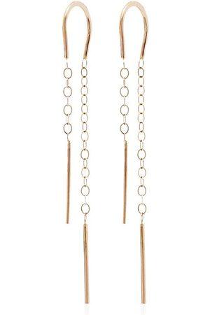 Melissa Joy Manning Horseshoe 14K drop earrings