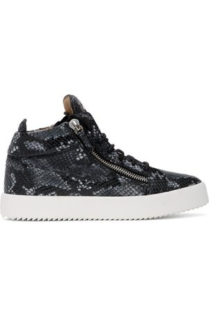 Giuseppe Zanotti Python May Kriss High Top Sneakers