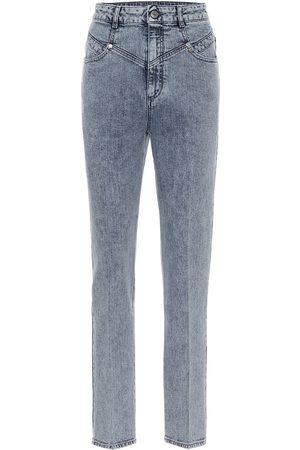 Stella McCartney High-rise stretch-denim slim jeans