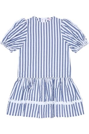 Il gufo Striped cotton dress