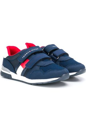 Tommy Hilfiger Logo touch strap low-top sneakers