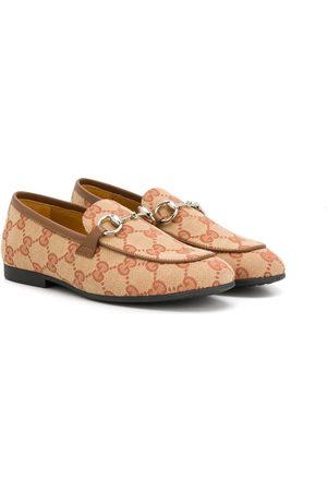 Gucci GG Supreme flat shoes