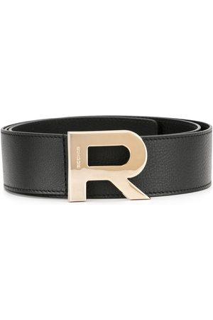 Rochas Logo buckle belt