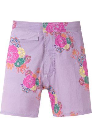 AMIR SLAMA Printed shorts