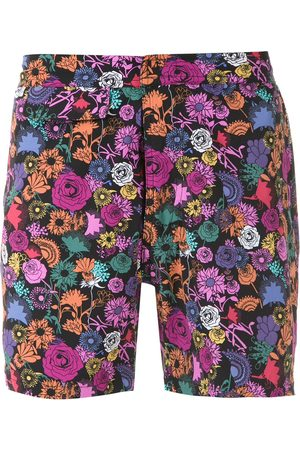 AMIR SLAMA Printed swim shorts