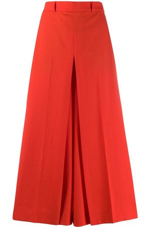 Ami High-waist cropped trousers
