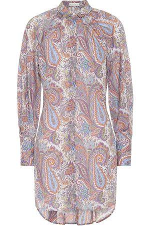 Etro Paisley cotton shirt dress