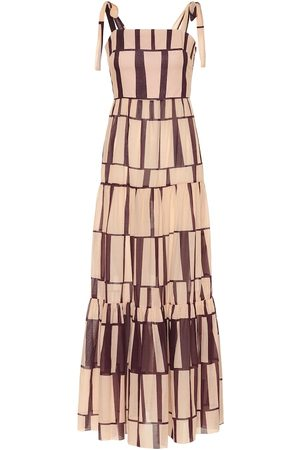 JOHANNA ORTIZ Printed cotton maxi dress