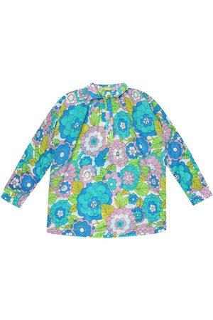 DODO BAR OR Floral cotton shirt