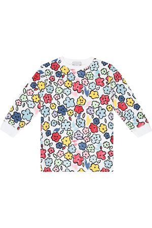 Stella McCartney Floral cotton sweatshirt dress