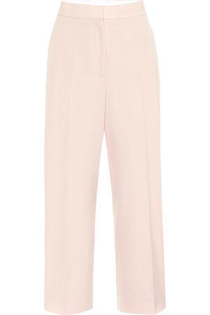 Stella McCartney Women Formal Pants - High-rise straight wool pants