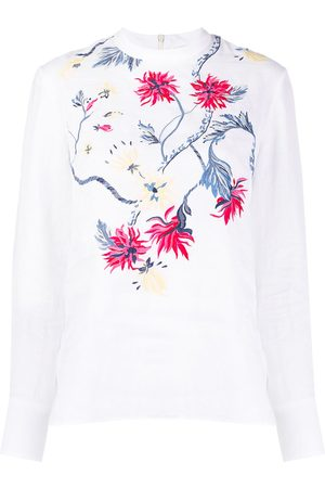 Chloé Women Blouses - Floral embroidered blouse