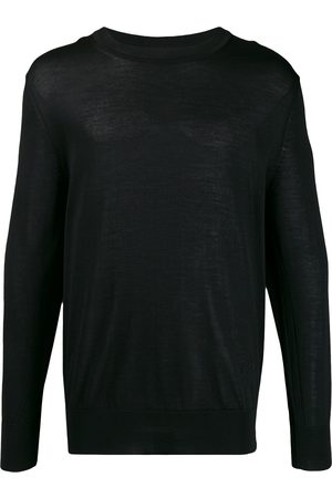 Ami Ribbed crew neck knitted sweater