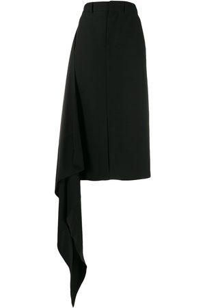 Ami Women Skirts - Draped side straight skirt