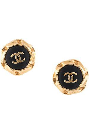 CHANEL Women Earrings - 1996 twisted edges CC earrings