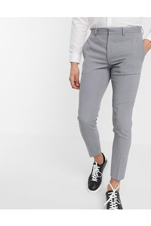 ASOS Super skinny cropped smart trousers in