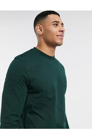 ASOS DESIGN Long sleeve t-shirt with crew neck in