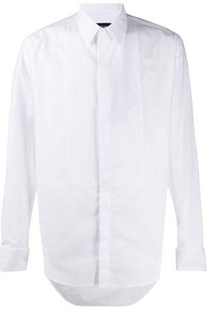Armani Pleated-bib formal shirt