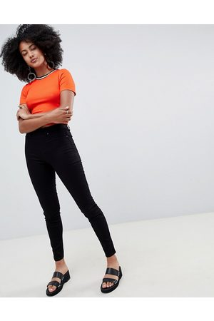 New Look Women Jeggings - Jegging with high waist in