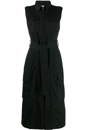 Ami Patch pocket jumpsuit